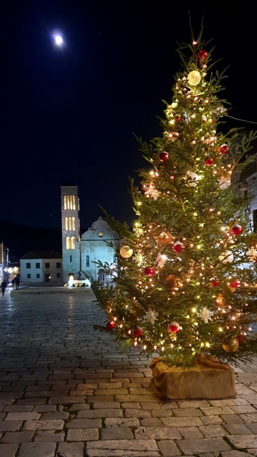 Christmas on the island Hvar
